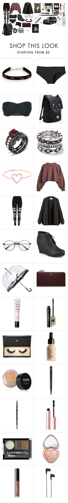 """""""Shopping days"""" by fandomlover1234 on Polyvore featuring Patagonia, WithChic, Love Is, River Island, I Love Mr. Mittens, Journee Collection, Fulton, Mulberry, NARS Cosmetics and tarte"""