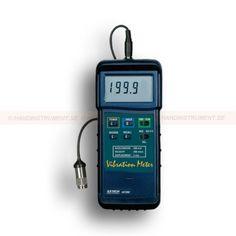 http://termometer.dk/specialmaler-r13485/maler-for-kraft-och-vibration-r13498/vibrometer-med-sporbart-kalibreringscertifikat-407-860-53-407860-NIST-r13500  Vibrometer Med sporbart kalibreringscertifikat, 407.860  Områder - Acceleration: 200m / s 2, hastighed: 200mm / s, Ubalance: 2mm  Ekstern vibration sensor med magnetisk adapter med 1m kabel  Record mode gemmer de maksimale og minimale værdier til senere måling  Bredt frekvensområde fra 10 Hz til 1 kHz  Resolution af 0.5m / s 2, 0,5...