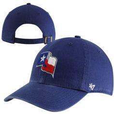 902656189f4fb  47 Brand Texas Rangers Cleanup Adjustable Hat - Royal Blue Texas Rangers  Hat
