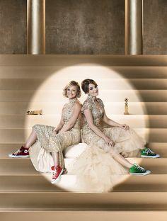 Amy Poehler and Tina Fey