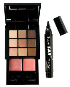 Price:  $12 for palette, $8 for eyeliner (available at  www.nyxcosmetics.com) Getting a glow on the go just got a whole lot easier: Next month, NYX launches their Nude on Nude Natural Look Kit. Packed with nine matte and shimmer shadows in shades of blush and brown, plus two pink lip colors, the palette is perfect for last-minute primping. (For an extra boost, dab the creamy glosses along cheekbones for a touch of dewy glamour.) Take your look from day to night with the  NYX Super Fat…