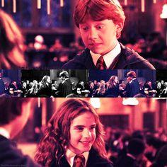ronald bilius weasley / hermione jean granger