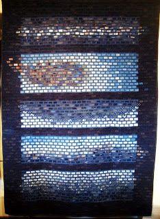 Scrap,quilt and stitch: Indigos japonais