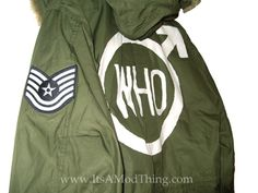 Stunning mod parka available in two styles.