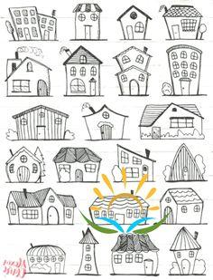 Doodle Haus Clipart Haus Vektor Kunst Haus Haus Stadt Stadt Haus PNG Dwelling Vector Obtain Haus Illustrationen 101 Haus Vektor, Art Haus, Image Clipart, House Illustration, Character Illustration, Digital Illustration, Doodle Drawings, Zentangle Drawings, Doodles Zentangles