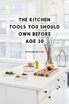 Approaching 30? It's time to ditch the all-in-one pot set and get serious about your kitchen tools.
