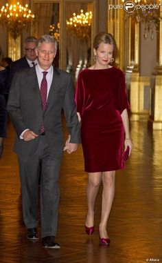 Princesse Mathilde et Philippe de Belgique