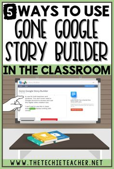 Gone Google Story Builder is a FREE digital tool that is easy for teachers and students to use in the classroom. You don't even need a Google account to access and use Gone Google Story Builder!  What