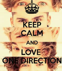 keep calm and love 1D. Shout out goes to @Peri Ortiz! Please go follow her. One more shout out until later, comment below!