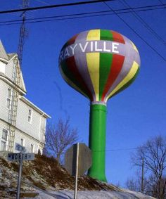 Grayville, IL Water Tower