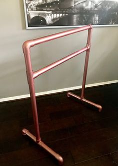 Learn how to make a portable ballet barre for home and personal use. I created mine using only pvc pipe and some paint.