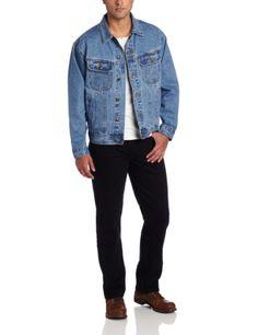 Wrangler Men's Rugged Wear Unlined Denim Jacket - http://brandnamedesignersmall.com/product/wrangler-mens-rugged-wear-unlined-denim-jacket/