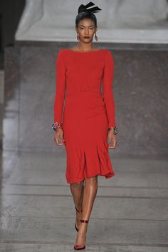 Zac Posen Fall 2012 Ready-to-Wear - Collection - Gallery - Look 1 - Style.com