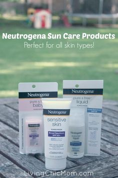 Neutrogena Sun Products - Receives the Seal of Acceptance! - Living Chic Mom
