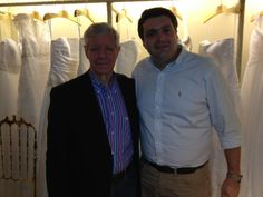 Cristofer Mickenhagen (diretor de Marketing da Black Tie) com Mr. Ken Green (vice presidente da David's Bridal)!