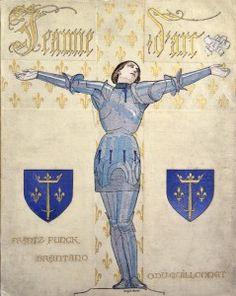 Victor Guillonnet Jeanne d'Arc