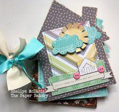 Sarah Aquino Ateliê Scrapbook: Mini Scrapbook