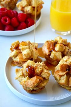 Cinnamon French Toast Muffins Recipe. Try making with Jimmy John's Day Old Bread!