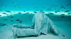 Underwater sculpyure gardens!!!