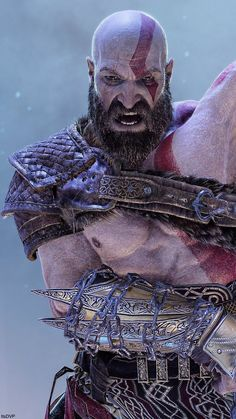 Photo Mode Incredibly detailed and beautiful screenshots of Kratos (Tap To Enl - Video Games - Ideas of Video Games - Photo Mode Incredibly detailed and beautiful screenshots of Kratos (Tap To Enlarge) Video Game Art, Video Games, Gow 4, King's Quest, Game Loft, God Of War Game, Kratos God Of War, Joker Poster, War Tattoo