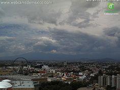 Cielo nublado en #Puebla. 18° C en este momento: