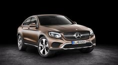 The new Mercedes-Benz GLC Coupé.
