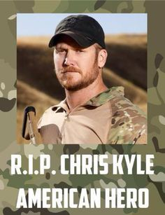 Chris Kyle, Navy SEAL sniper ... murdered trying to help a fellow veteran with PTSD