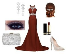 """Prom"" by patty-15 on Polyvore featuring Mode, Casadei, Saks Fifth Avenue, Jon Richard, Gucci und Natasha"