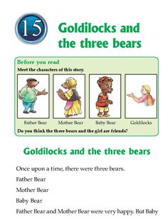 a literary analysis of the goldilocks and the three bears If goldilocks and the three bears were to be used as an example, an  interpretation of the moral of the fairy tale could be that unless someone is in an  extreme.