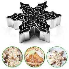 De Noël plätzchenausstecher keksausstecher Cookie Cutter 4er