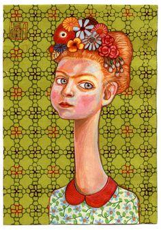 Lena Revenko . Лена Ревенко . לנה רבנקו — art illustration design