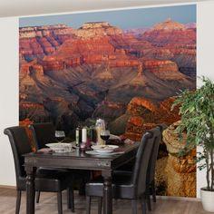 Vliestapete - #Grand #Canyon nach dem Sonnenuntergang - Fototapete Quadrat #naturpur #nature #Tapete #Sonne #Landschaft #freedom #Natur #Abenteuer #USA