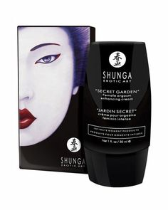 Shunga lorategi sekretua -Emakumearen orgasmoarentzat krema 31,99€  Shunga crema orgasmo femenino intenso jardín secreto 31,99€