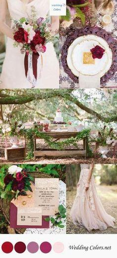 32f7b80c82a0 47+ Super Ideas For Hair Wedding Flower Boho Blush Wedding Palette