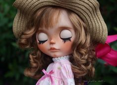 RESERVED Harriet OOAK Custom Art Blythe Doll by by Rainfable