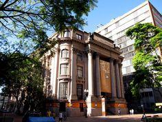 Centro Cultural Santander - Antigo prédio do Banco do Comércio - Porto Alegre