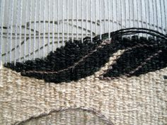 tapestry works in progress : Inspiration from crows