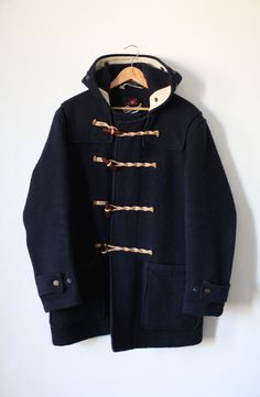 Gloverall Duffle Coat Navy