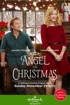"""Find out more about the Hallmark Channel movie """"Angel of Christmas,"""" starring Jennifer Finnigan, Jonathan Scarfe and Holly Robinson Peete. Hallmark Channel, Películas Hallmark, Films Hallmark, Family Christmas Movies, Hallmark Christmas Movies, Family Movies, Christmas 2015, Holiday Movies, Holiday Time"""