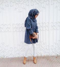 islamthelife:   Follow Me:... - Street Hijab Fashion