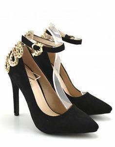 Pantofi eleganti de dama cu toc inalt Beautiful Shoes, Most Beautiful, Kicks, Women's Fashion, Heels, Outfits, Tights, Cute Wedges Shoes