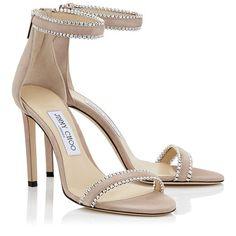 Jimmy Choo Sunglasses, Girls Heels, Tan Heels, Beige High Heels, Evening Sandals, Kinds Of Shoes, Jimmy Choo Shoes, Open Toe Sandals, Shoes Sandals