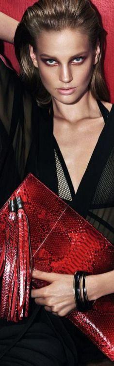 # Dior Handbag in red