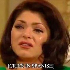 21 Truths About Speaking Spanglish You know very well that there's such a thing as crying and laughing in English versus in Spanish. Stupid Memes, Dankest Memes, Atla Memes, Cries In Spanish, Spanish Humor, Funny Memes In Spanish, Wholesome Memes, Mood Pics, Meme Faces