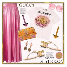 Gucci outfit by Sasoza by sasooza on Polyvore featuring polyvore fashion style Gucci Givenchy clothing