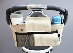 Stroller organizer... or awesome cup and wallet holder for my wheelchair!!!