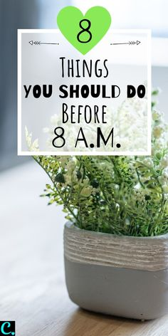 The Best Morning Routine: 8 Things To Do Before 8 a. Healthy Morning Routine, Morning Habits, Morning Routines, Digital Bullet Journal, Compliment Someone, Cool Things To Make, Good Things, Detox Challenge, Habits Of Successful People