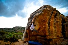 Team climber Tom Greenall on Vanity (V7) at Rocklands, SA - Photo: Michelle Greenall Read the full story here: http://www.pitchclimbing.com/2013/08/21/rocklands-bouldering-south-africa/