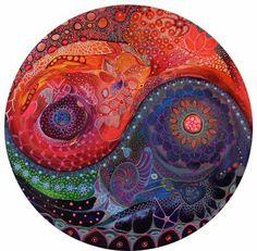 Seeking Balance by Moira Gil /  Sacred Geometry <3