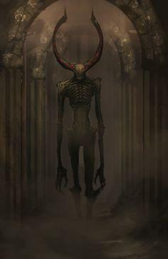 Abyssal Wendigo by legendary-memory.deviantart.com on @deviantART